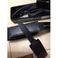 Нож скрытого ношения для самообороны  кожаный